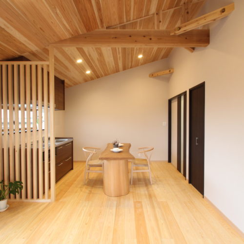 奈良で木の家二世帯住宅なら平野木材 H様邸施工画像