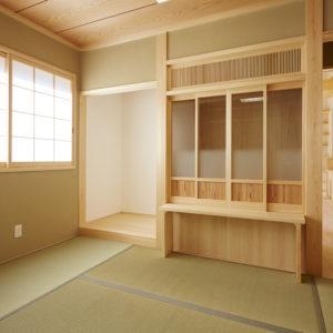 奈良の木の家 ネコと暮す和室 平野木材