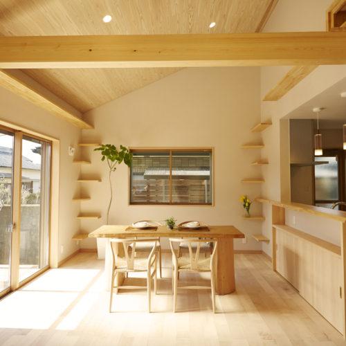 奈良で猫と暮す木の家なら平野木材