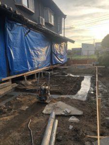 耐震工事、基礎工事、リノベーション、奈良の木の家、奈良で信頼できる工務店