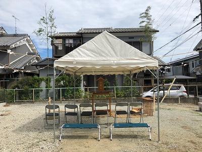 奈良の木の家、奈良の工務店、地鎮祭、奈良で信頼できる工務店