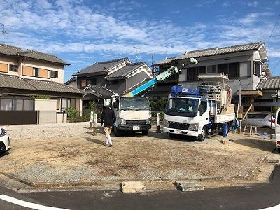 奈良の木の家、奈良の工務店、地盤調査