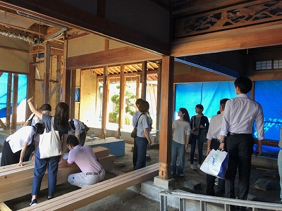奈良の工務店、奈良の木の家、自宅改修工事、耐震