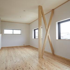 奈良の旧家リフォーム木の家 洋室平野木材