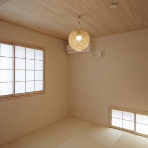 奈良の木の家 和室