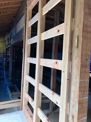奈良の木の家、奈良の工務店、和風建築リフォーム、耐震補強、粘る壁、耐震等級