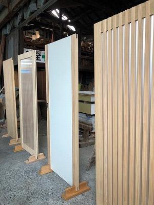 奈良の木の建具なら平野木材
