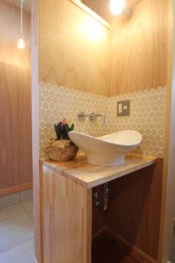 奈良で造作洗面なら平野木材