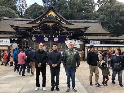 奈良大神神社初詣平野木材