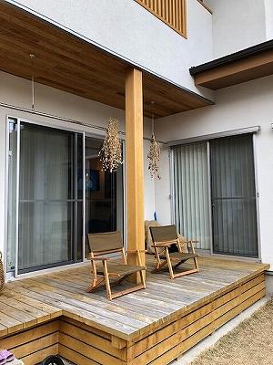 奈良で実際にお住まいの平野木材の木の家を見る平野木材