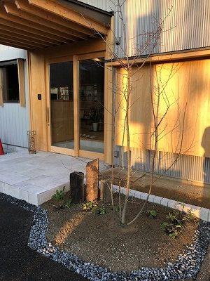 奈良で植栽工事なら平野木材