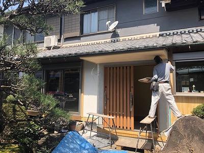 奈良で漆喰なら平野木材