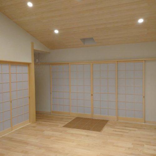 奈良木の家リビング平野木材