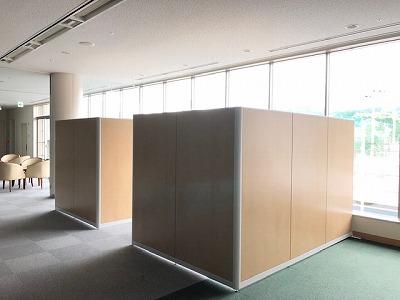 奈良でパーテーションなら平野木材