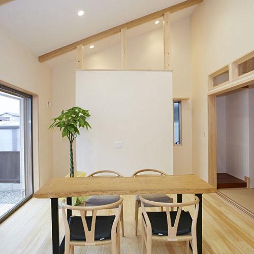 奈良で木の家長期優良住宅なら平野木材 リビング