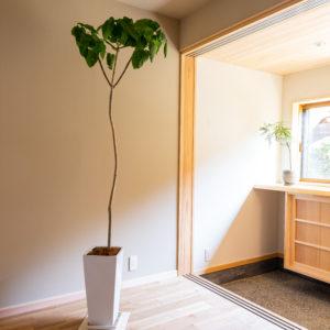奈良で古民家旧家リフォームの玄関なら平野木材