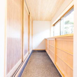 奈良で古民家旧家リフォームの土間玄関なら平野木材