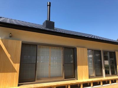 奈良で平屋の木の家外観なら平野木材