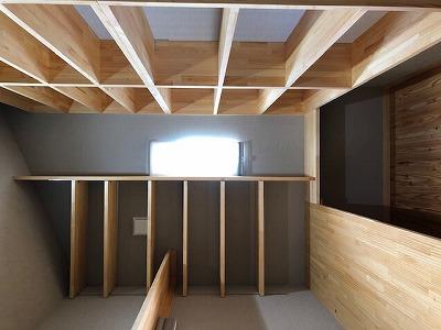 奈良で平屋の木の家書斎なら平野木材