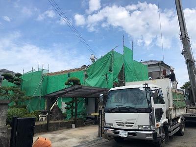 奈良で屋根が恵工事なら平野木材