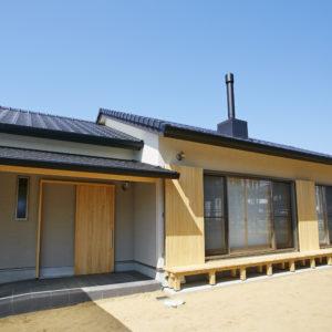 奈良で和モダンの平屋の木の家なら平野木材