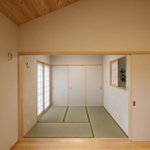 奈良で注文住宅の木の家和室なら平野木材