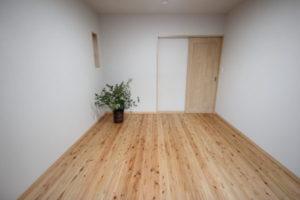 奈良で注文住宅の木の家寝室なら平野木材