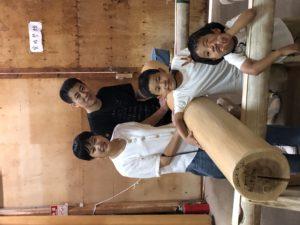 奈良で注文住宅木の家丸太平野木材