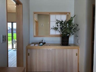 奈良で注文住宅の木の家の玄関なら平野木材