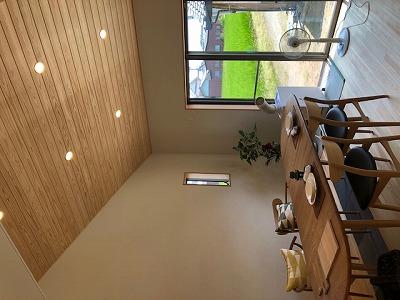 奈良で注文住宅の木の家のリビングなら平野木材