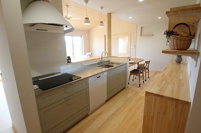 奈良で注文住宅キッチンなら平野木材
