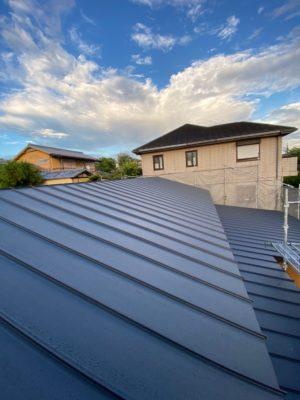 奈良で注文住宅の木の家ガルバリウム屋根なら平野木材へ