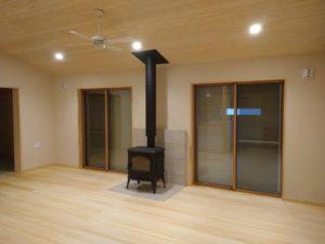 奈良注文住宅木の家の薪ストーブなら平野木材