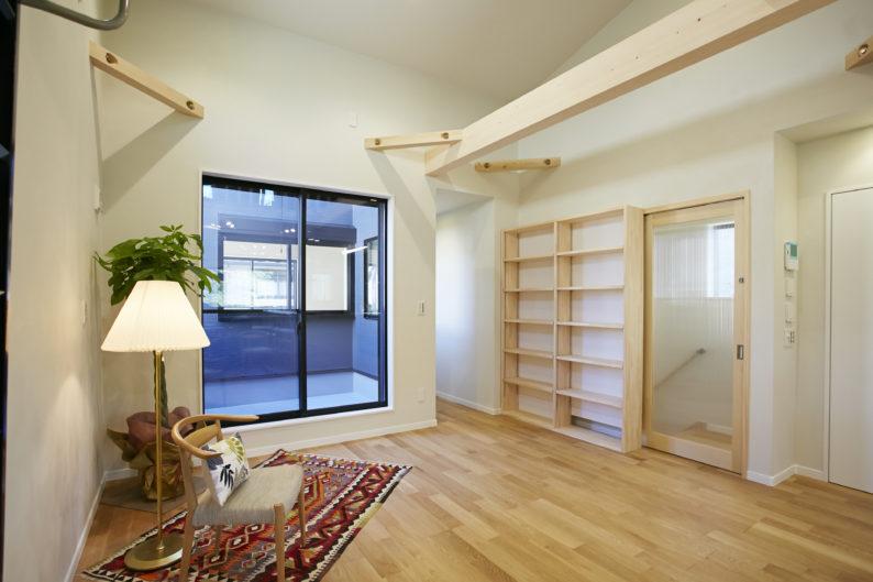 奈良で二階リビングの木の家奈良平野木材