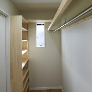 奈良で注文住宅収納計画ワークインクローゼットなら平野木材