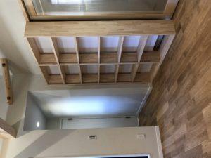 奈良で注文住宅リビング収納なら平野木材