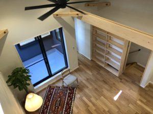 奈良で新築注文住宅2階リビングなら平野木材