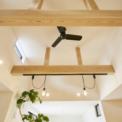 奈良で奈良県産材の木の家梁なら平野木材
