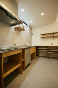 奈良で新築注文住宅のオーダーキッチンなら平野木材へ