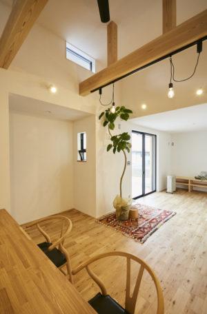 奈良で木の家リビングなら平野木材へ