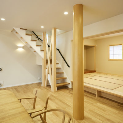 奈良で光を取りこむ大リビングの木なら平野木材の家
