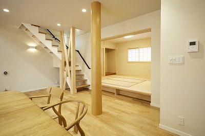 奈良で丸太柱の家なら平野木材