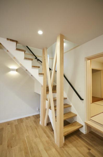 奈良でリビング階段なら平野木材