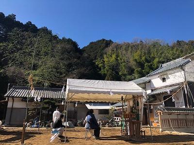 奈良で木の家注文住宅地鎮祭なら平野木材