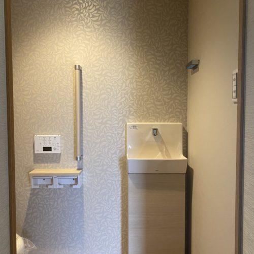 奈良の木の家注文住宅工務店がリフォームしたトイレ
