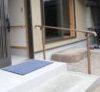 奈良の木の家注文住宅工務店の平野木材がリフォームした玄関の手すり