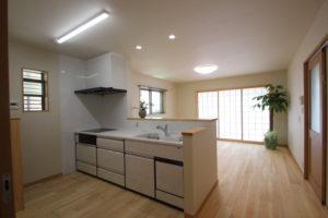 奈良で木の家注文住宅リビングなら平野木材