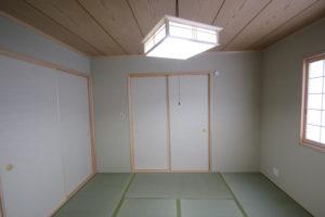 奈良で木の家注文住宅和室なら平野木材