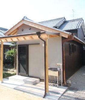 奈良で旧家リフォーム古民家再生の工務店の離れ改修なら平野木材へ