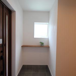 奈良で木の家注文住宅の工務店の玄関なら平野木材